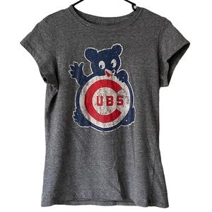 5th & Ocean Chicago Cubs Gray T-Shirt Size Large